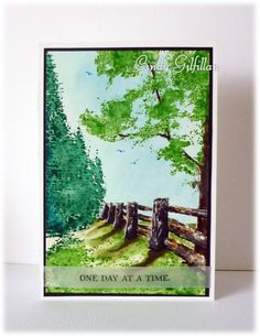 A Hidden Lane by Cindy Gilfillan - frenziedstamper - Cards and Paper Crafts at Splitcoaststampers