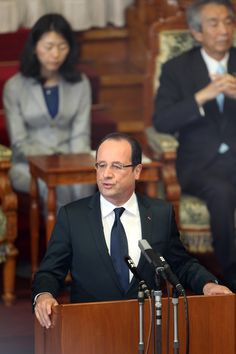 PARIS -- French President Francois Hollande said Tuesday that he's waiting for a decision from the U.S. Congress on possible military action in Syria and insists France won't strike against Bashar Assad's regime alone. The French leader and President Barack Obama have been the two most outspoken world leaders on the need to respond to a suspected chemical weapons attack Aug. 21 near Damascus that killed hundreds of people.
