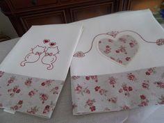 Lavanda e Lillà: Asciugamano in Lino