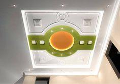 Pop Design Photo, Pop Ceiling Design, False Ceiling Living Room, Contemporary Interior Design, Home Appliances, Photo Walls, Ceiling Ideas, Gate, Interiors