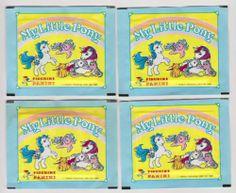 1986 MY LITTLE PONY CARDS....PANINI