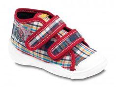 European Shoes Befado Speedy Girl Grey Shoes with Leopard