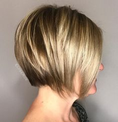 Nape-to-Jaw-Length Layered Bob