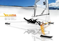 Foldable Kaira Ice Yacht to Be Tested Out at Baikal Ice Racing Competition
