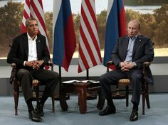 One Photo That Says It All About Obama's Chilly Meeting With Vladimir Putin