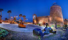 Castillo de Roquetas de Mar . Almería