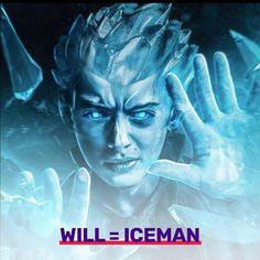 #willbyers as Iceman #strangerthings X-Men mashup #strangerthings2 #strangerthingsmemes #strangerthingsedit #eleven #elevencosplay #elevenstrangerthings #hawkins #hawkinsindiana #netflix