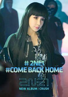 2NE1 CRUSH: 2nd. Album (2014.02.27)