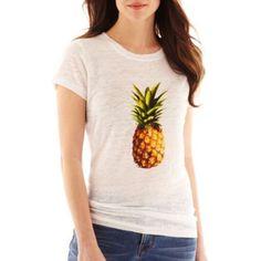 pineapple print tee (under $15)