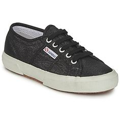 Zapatillas Superga 2750 Everyday Shoes, Color Negra, Sneakers, Outlet, Vanities, Collection, Shopping, Fashion, Black