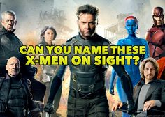 Can You Name These X-Men On Sight? Take the quiz to find out! Your Name, Quizzes, X Men, Captain America, Science Fiction, Deadpool, How To Find Out, Avengers, Marvel