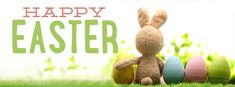 Easter - Happy Easter Bunny with Eggs - Free Facebook Covers, Facebook Timeline Profile Covers #Easter #Holiday #EasterBunny #TimelineCover