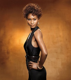 Short Curly Black Hairstyle by MIZANI by Beautique.com Hair & Beauty, via Flickr