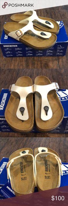 New Birkenstock Gizeh Sandals New in box Birkenstock Gizeh Sandals size 37/L6 Birkenstock Shoes Sandals