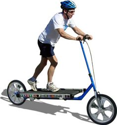 In love with your treadmill?  Why not take it outside with you using the treadmill bike.