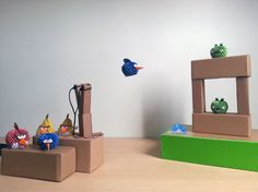 Origami 3D - Angry Birds