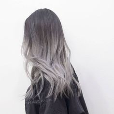 Photo of Miju Van Salon - Los Angeles, CA, United States. Ombre in ash silver