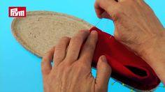 Espadrilles Gomera – Basic model Espadrille Shoes, Felt Shoes, Sock Shoes, Crochet Shoes, Crochet Slippers, Shoe Cobbler, Felted Slippers, Shoe Pattern, Scrappy Quilts