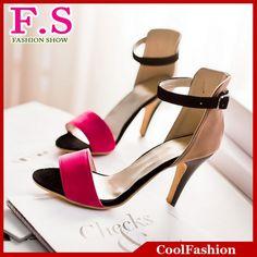 Big Size Women Sandals 2014 New Arrivals Sexy Ankle Straps Gladiator  Sandals High Heels Platform Summer Shoes 041c44d2cf3