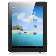 SoXi X80 Fashion Version 8 Inch MID Tablet PC Android 4.0 8GB Camera Color White