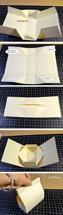 Bolsa de papel - tutorial