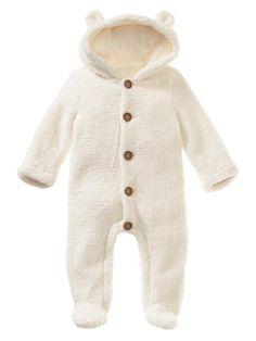 Adorable baby bear (almost as cute as LL Bean's)! Gap