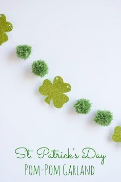 DIY St. Patrick's Day : DIY St. Patrick's Day Garland