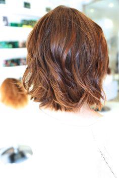 modern shag haircut for thick hair