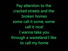 Green Day - Welcome to Paradise lyrics - for Demaris