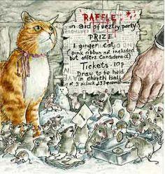 Graham Oakley 'The Church Mice'