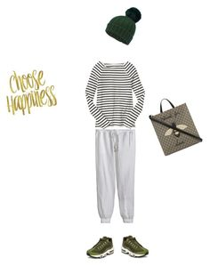 """""""Sporty day!"""" by mmarky on Polyvore featuring moda, Miss Selfridge, Calypso St. Barth, NIKE, Gap e Gucci"""