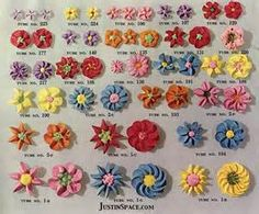 Cake decorating piping tips - Simple Craft Ideas Frosting Flowers, Royal Icing Flowers, Icing Frosting, Fondant Flowers, Cake Icing, Eat Cake, Frosting Tips, Buttercream Cake, Piping Icing
