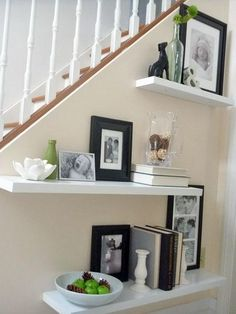 Redecorate the home and add family photos to add a personal element.