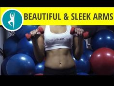 7 workouts for sleek arms and beautiful upper body - YouTube