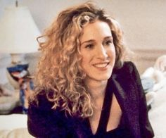 """The original """"Carrie,"""" which showcased her wild ringlets, launched a million imitators. Photo courtesy HBO"""