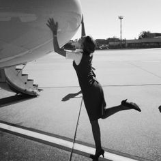 Being and becoming a flight attendant | The Fashion Moodboard - fashion, thrifting and traveling by flight attendant Shalane