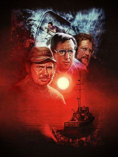 "JAWS - Paul Shipper ---- Hero Complex Gallery presents ""Smile You Son Of A Bitch!"""