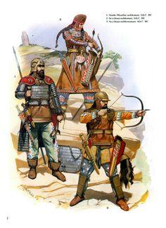 Scythian horse warriors, 4th and 5th century B.C.