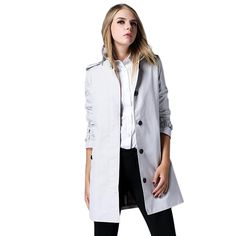 Saprex British Style Women Windbreak Trench Coats *** This is an Amazon Affiliate link. To view further for this item, visit the image link.
