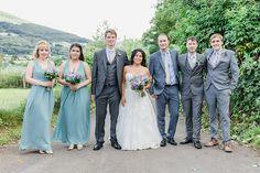Turquoise Wedding Flowers, Welsh Weddings, Wedding Breakfast, Bridesmaid Dresses, Wedding Dresses, Got Married, Summer Wedding, Rustic Wedding, Wedding Photography