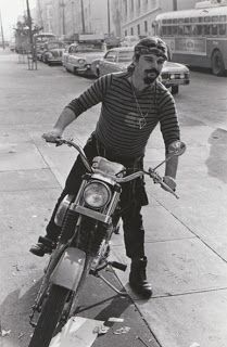 A vintage Jim Marshall photograph of Grateful Dead vocalist and keyboardist Pigpen (Ron McKernan) astride his motorcycle, circa This x print has le Pigpen Grateful Dead, Grateful Dead Poster, Dead Pictures, Cool Pictures, Dead Pics, Jim Marshall, Ironhead Sportster, Pig Pen, Forever Grateful