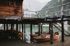 Still mornings in the Dolomites.. 🍂