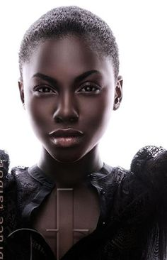 Dark skin make-up. Beautiful Dark Skinned Women, My Black Is Beautiful, Simply Beautiful, Dark Skin Tone, Brown Skin, Natural Hair Styles, Short Hair Styles, Dark Skin Beauty, Natural Beauty