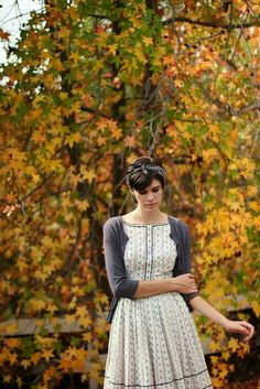 beautiful dress | autumn
