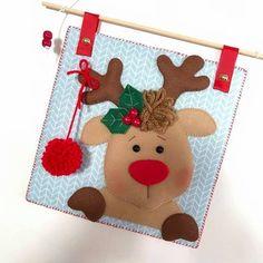 Christmas Crafts For Kids To Make, Christmas Clay, Felt Christmas Ornaments, Christmas Sewing, Xmas Crafts, Christmas Projects, All Things Christmas, Felt Crafts, Christmas Stockings
