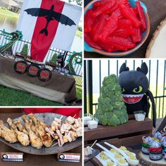 Project Nursery - How to Train Your Dragon Birthday Party Treats