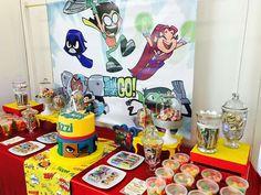 Titans go birthday party | CatchMyParty.com