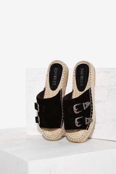 Nightwalker El Mono Suede Sandal | Shop Shoes at Nasty Gal!