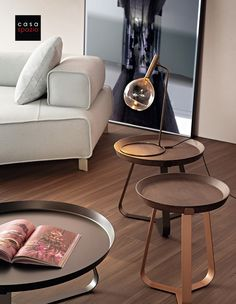 The Frinfri is a modern coffee table from Italian furniture brand Bonaldo and an easy addition to any modern living room design. Available in multiple sizes and heights, the tray-like table top makes it the perfect side table or occasional table for snacks, drinks, books or the remote control. These modern side tables are light weight making them easy to move for entertaining. Available through Casa Spazio, a modern furniture store in Chicago. Also shop online at www.casaspazio.com Italian Furniture Brands, Modern Furniture Stores, Furniture Showroom, Living Room Furniture, Home Furniture, Modern Side Table, Modern Coffee Tables, Occasional Tables, Luxury Home Decor