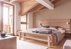 The New Purism - Familien Suite Restaurant, Modern, Architecture, Bed, Furniture, Home Decor, Travel, Arquitetura, Viajes